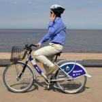 Recorriendo los museos en bicicleta