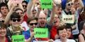 """Vaticano califica de """"derrota de la Humanidad"""" bodas gays: Alemania en debate tras aprobación en Irlanda"""