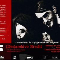 Lanzan proyecto web sobre la obra de Bertolt Brecht en Uruguay