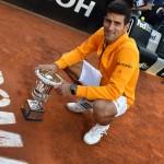 Djokovic venció a Federer en la final del Masters de Roma