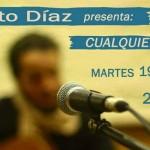 El cantautor uruguayo Ernesto Díaz presenta su disco
