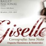Giselle: del Ballet Nacional del Sodre, producida por el Auditorio