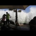 Investigan origen de olas gigantescas en el océano Pacífico americano que en los últimos días causaron 5 muertos