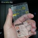 """El 14 de junio en Nueva York presentan el primer smartphone transparente creado por la empresa telefónica """"PhoneBrasil""""."""
