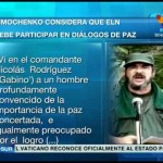"""Las FARC consideran """"urgente"""" que el ELN se sume a un acuerdo de paz pero """"la extrema derecha"""" se opone"""