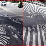 """India: Las calles comienzan a """"derretirse"""" por ola de calor que ronda los 50 grados y costó la vida ya a más de mil personas"""