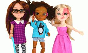 Crean muñecas con capacidades diferentes que reflejan la diversidad