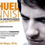 Se presentará Nahuel Pennisi en Montevideo: por un mundo sin barreras