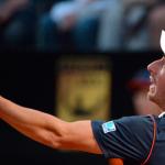Cuevas no pudo con Federer por el Masters 1000 de Roma