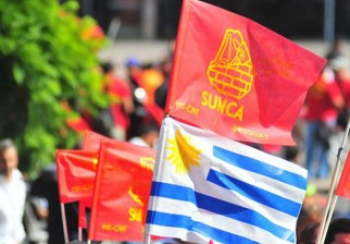 Sindicato de la Construcción para sus actividades en reclamo de soluciones para trabajadores de la regasificadora