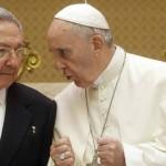 El presidente cubano Raúl Castro asegura que volverá a rezar y a la Iglesia gracias al Papa Francisco