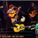 El Cuarteto Ricacosa se presenta en el Florencio Sánchez