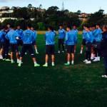 La selección sub 20 perdió su primer amistoso en Nueva Zelanda