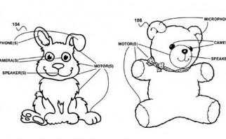 """Google patenta un """"Super-Teddy Bear"""": un oso de peluche conectado a Internet y a toda la casa"""