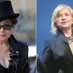 Broma sobre amoríos entre Yoko Ono y Hillary Clinton fue convertida en noticia viral por algunos medios