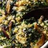 Cazuela de hongos shiitake y acelga, un plato justo para disfrutar en invierno