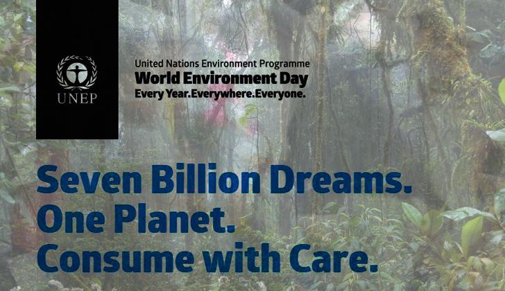 """. Un planeta. Consume con cuidado"""", es el mensaje de este año"""