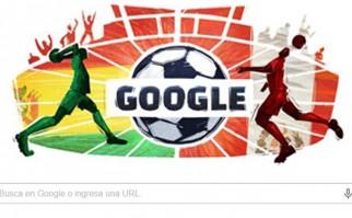 Doodle de Google festeja el partido entre Perú y Bolivia por los cuartos de final de la Copa América
