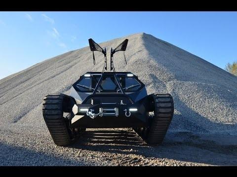 """Sale al mercado en EE.UU. el primer tanque blindado de alta velocidad: el Ripsaw Extreme Vehicle publicitado como """"un lujo de edición limitada"""""""