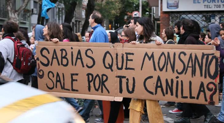 Marcha contra Monsanto en Montevideo / Foto: Milagros Luissi