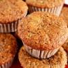 Muffins de banana integrales