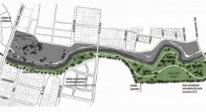 Intendencia de Montevideo construirá parque lineal del Miguelete, una inversión de 51 millones de pesos