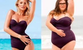"""Mujeres """"reales"""" posando con trajes de baño de Victoria´s Secret"""