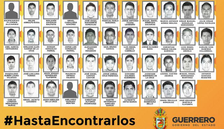 Promueven reunión de familiares de los 43 estudiantes desaparecidos en Iguala con el Papa Francisco