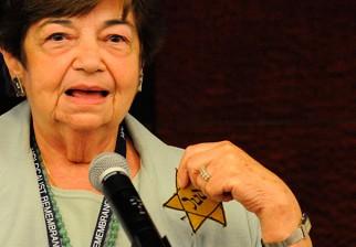 Intendenta Ana Olivera declara Visitante Ilustre a Ela Weissberger, sobreviviente del Holocausto del pueblo judío