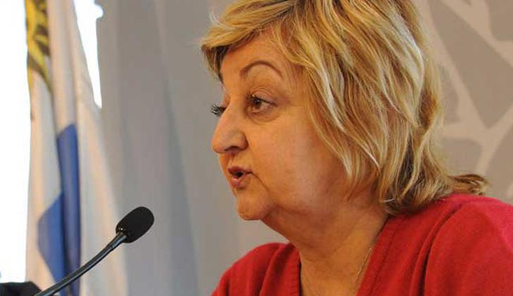 Liliam Kechichian, ministra de Turismo. Foto de archivo