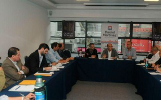 Alcaldes presentan líneas de acción al Intendente de Montevideo