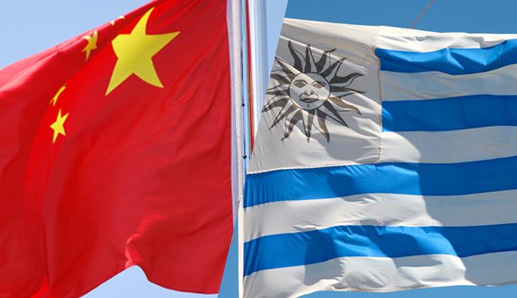 china uruguay acuerdo - Empresarios de China impulsarán el sector comercio en Uruguay