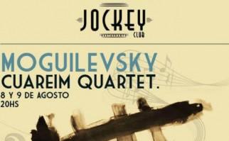 Marcelo Moguilevsky junto al Cuareim Quartet por primera vez en Montevideo