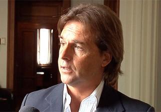 """El senador nacionalista Luis Lacalle Pou denunció los """"ajustes fiscales"""" del gobierno"""