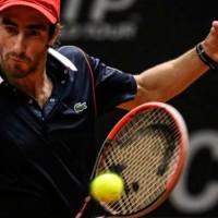 Cuevas debutó con triunfo en singles y dobles del ATP de Hamburgo