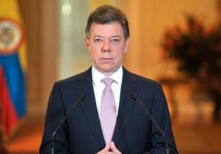 Presidente de Colombia, Juan Manuel Santos, pide no replicar en redes sociales rumores de atentados terroristas