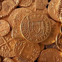 En Estados Unidos rescatan tesoro en barco hundido en 1715