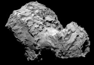 Descubren en un cometa moléculas precursoras de la vida
