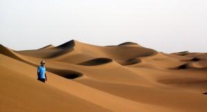 """Debajo de desierto chino podría encontrarse un """"océano entero"""""""