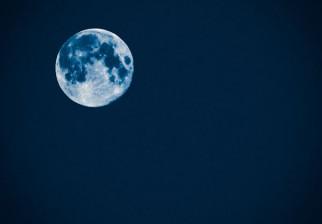 """La """"Luna azul"""" pudo verse en Uruguay el último día de julio"""