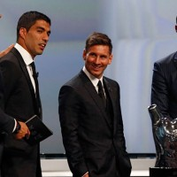 Messi se quedó con el premio al Mejor Jugador de la UEFA