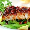 Infaltable receta para el menú: pescado al horno con vegetales