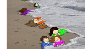 Las fotos del niño sirio ahogado en el Mediterráneo sacuden al mundo pero los líderes europeos insisten con discursos vacíos