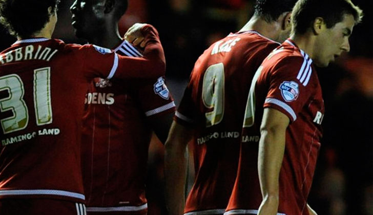 Carlos De Pena debut aprobado en el Middlesbrough. Foto: @Boro
