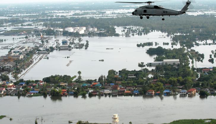 """Las inundaciones son unas de las tantas consecuencias que tiene el fenómeno de """"El Niño"""". Foto: Wikimedia Commons."""