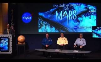 La NASA convencida de la existencia de agua en Marte incluso en la superficie lo que revoluciona nuestra concepción del planeta