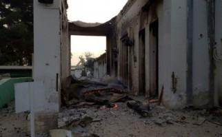 """""""Médicos Sin Fronteras condena en los términos más enérgicos posibles el horrible bombardeo de su hospital en Kunduz cuando estaba lleno de personal y pacientes/ Foto AFP"""