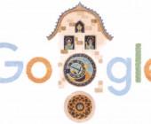 """Doodle de Google para el Reloj astronómico de Praga un """"prodigio medieval"""" que cumple 605 años"""