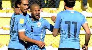 Un triunfo con altura de Uruguay en La Paz