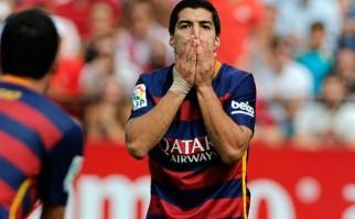 Barcelona perdió con el Sevilla. Foto: AFP CRISTINA QUICLER